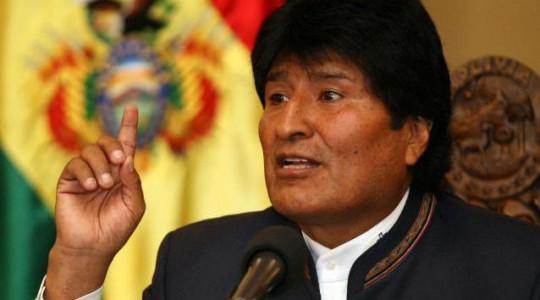 Los medios contra el presidente de Bolivia